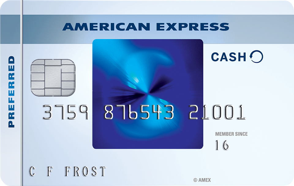 Blue Cash Preferred® Card from American Express Credit Card