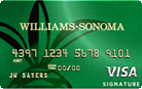 The Williams-Sonoma Visa Signature® Card