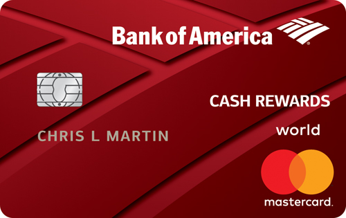 BankAmericard Cash Rewards™ Credit Card Credit Card