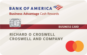 Bank of America® Cash Rewards for Business MasterCard® credit card