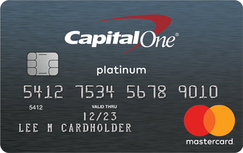 Capital One® Secured MasterCard® Credit Card
