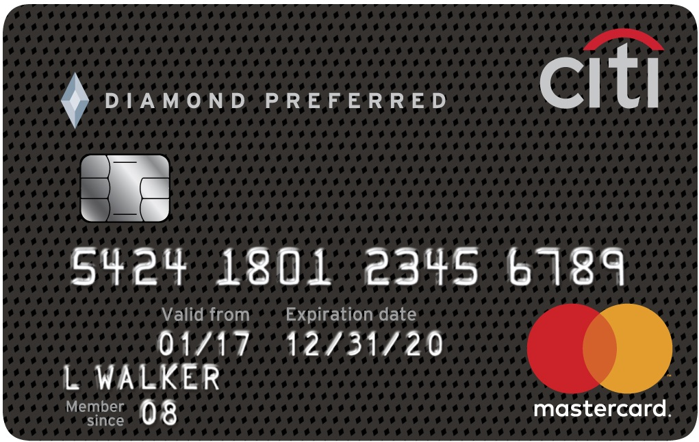 Citi® Diamond Preferred® Card Credit Card