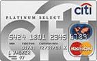 Citi® Platinum Select® MasterCard®