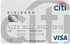 Citi® Dividend Platinum Select® Visa® Card - EXPIRED OFFER