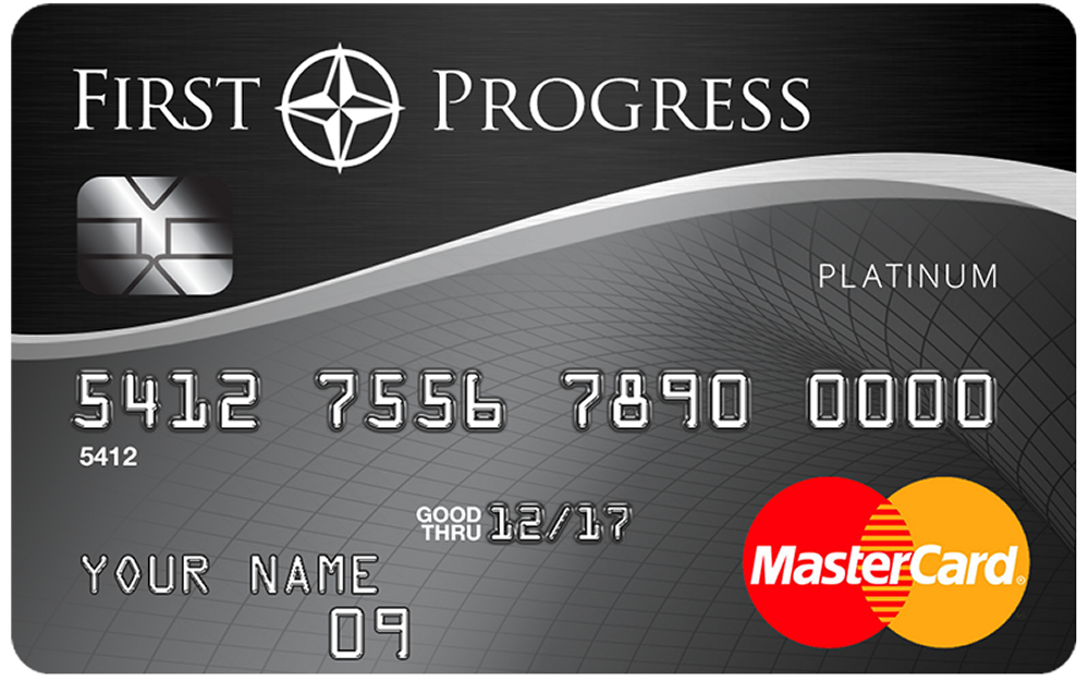 First Progress Platinum Select MasterCard® Secured Credit Card Credit Card