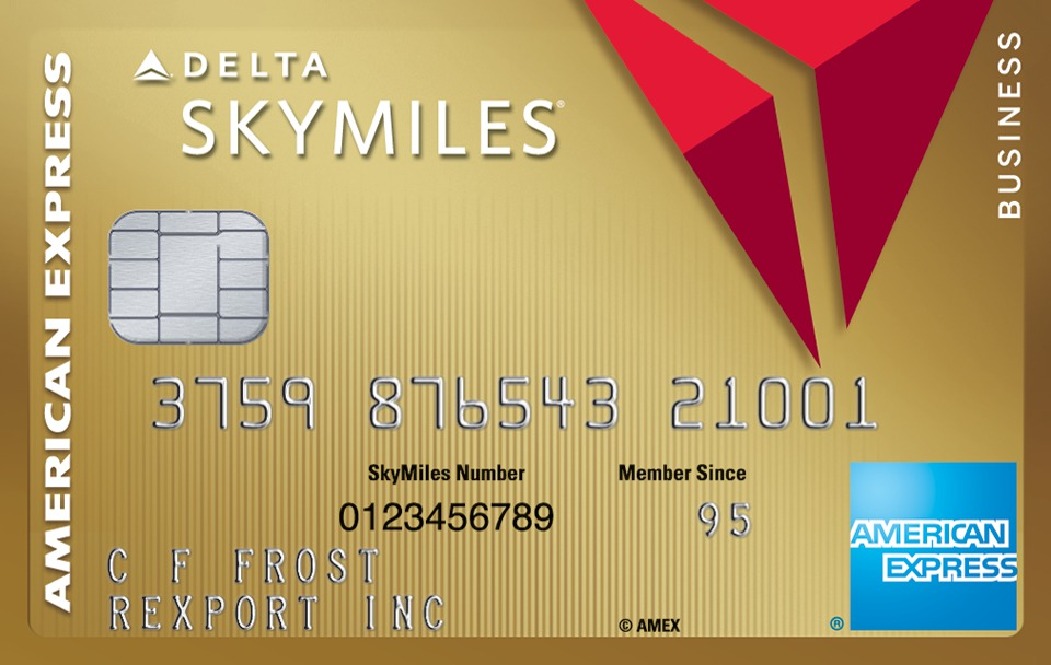 Gold Delta SkyMiles® Business Credit Card from American Express ...