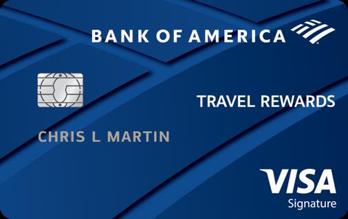 Bank of America cartão de crédito taxas internacionais