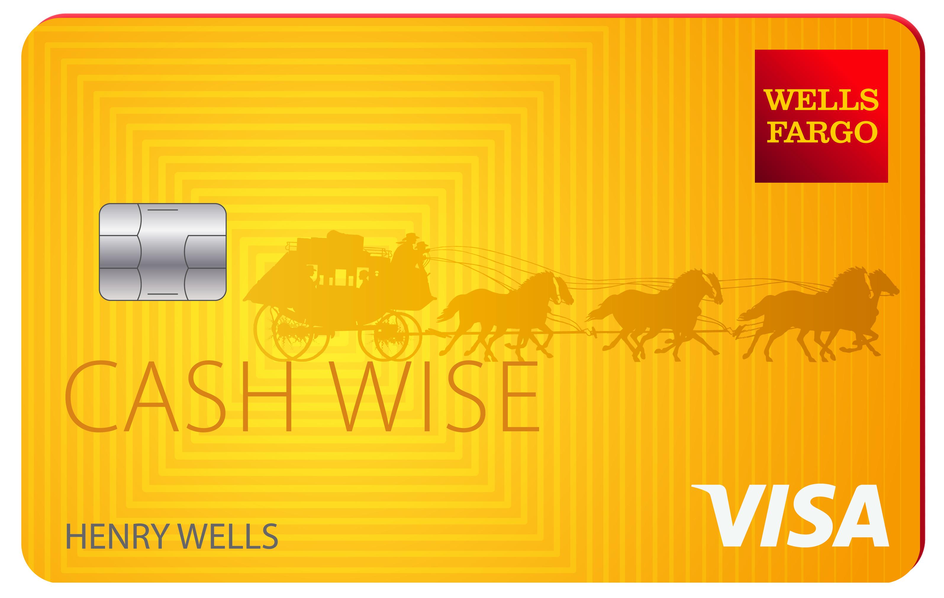 Wells Fargo cartão instantâneo fácil pay