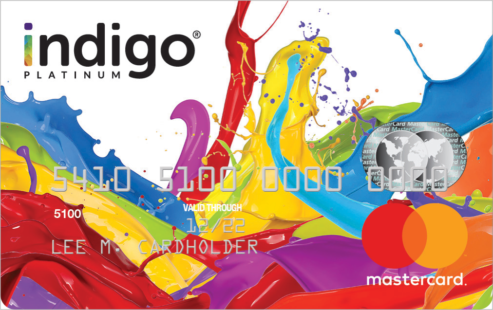 Image result for The Indigo Platinum MasterCard