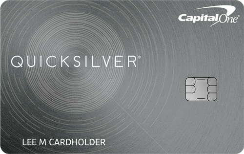 Capital One Quicksilver Cash Rewards Credit Card Reviews Credit