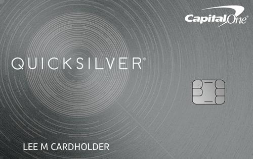 2018 credit card reviews compare top offers credit karma capital onereg quicksilverreg cash rewards credit card colourmoves